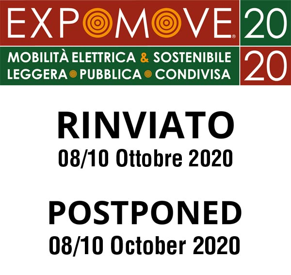 Expomove rinviato/postponed